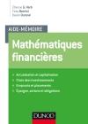 Aide-mémoire de Mathématiques financières