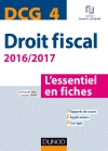 DCG 4 - Droit fiscal - 2016/2017 : L'essentiel en fiches
