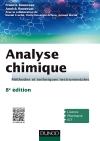 Analyse chimique : Méthodes et techniques instrumentales