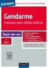 Gendarme - Concours sous-officier externe : Tout-en-un