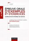 Epreuve orale d'exemples et d'exercices - Agrégation interne de mathématiques : Agrégation interne de mathématiques