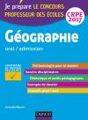 Géographie - Professeur des écoles - Oral, admission - CRPE 2017