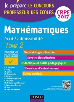 Mathématiques - Professeur des écoles - Ecrit, admissibilité - CRPE 2017