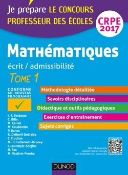 Mathématiques - Professeur des écoles - Ecrit / admissibilité - CRPE 2017