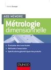 Aide-mémoire - Métrologie dimensionnelle