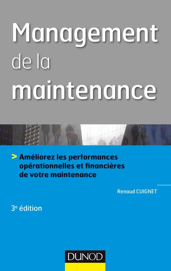 Management de la maintenance - 3e ?d.