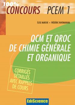 QCM et QROC Chimie générale et organique PCEM1