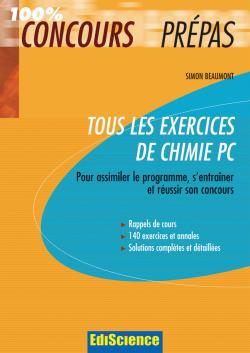 Tous les exercices de Chimie PC