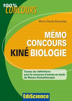 Mmo Concours Kin Biologie