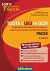 Toute l'UE3 en QCM PACES : Organisation des appareils et systèmes : aspects fonctionnels et méthodes d'études