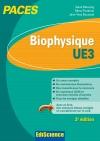 Biophysique - UE3 PACES : Manuel, cours + QCM corrigés
