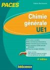 Chimie générale-UE1 PACES : Manuel, cours + QCM corrigés