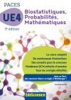 Biostatistiques Probabilités Mathématiques-UE 4 PACES 3e : Manuel, cours + QCM corrigés