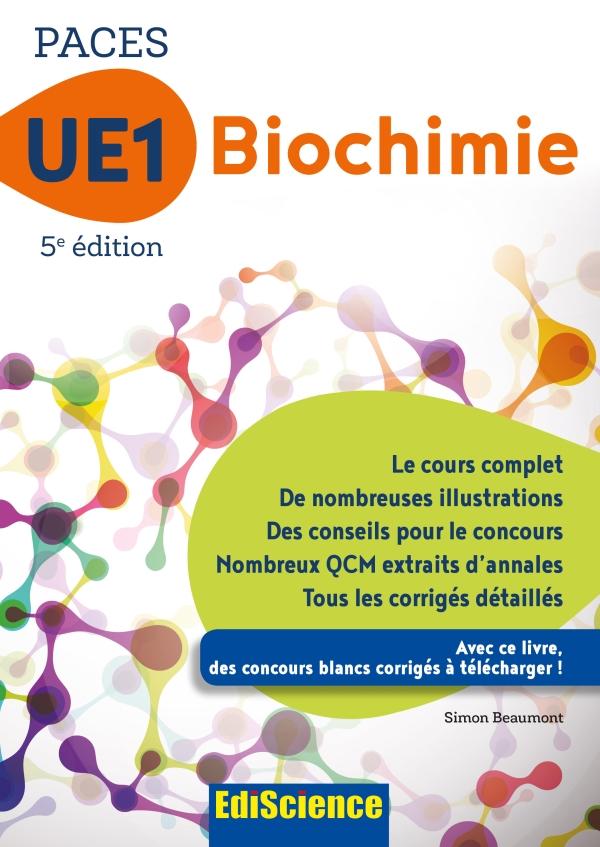 PACES UE1 Biochimie - 5e ?d.