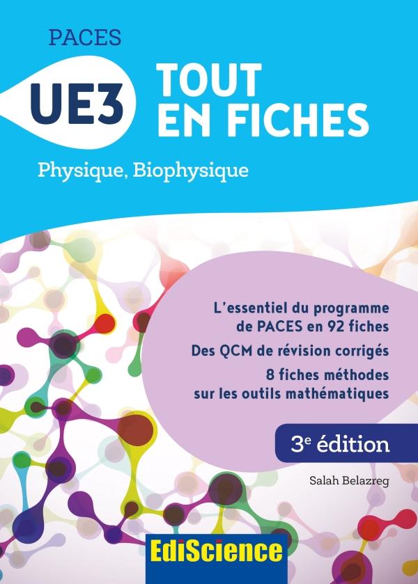 PACES UE3 Tout en fiches - 3e éd.