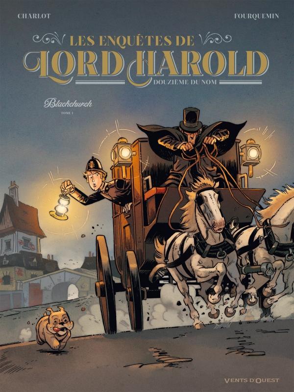 Les Enquêtes de Lord Harold, douzième du nom - Tome 01, Blackchurch