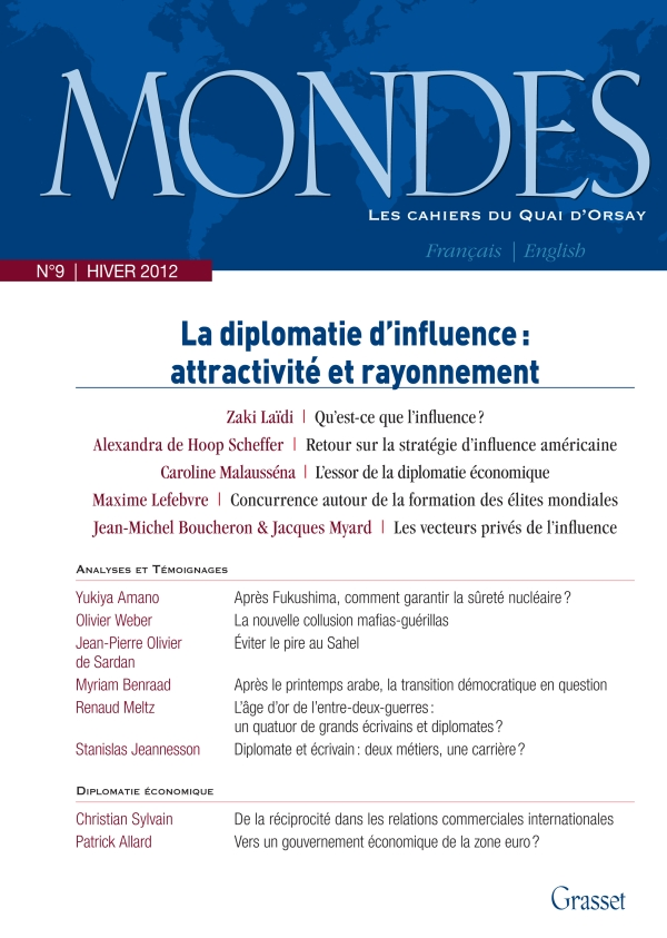 Mondes nº9 Les Cahiers du Quai d'Orsay