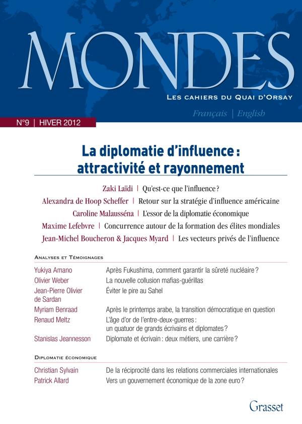 Mondes n°9 Les Cahiers du Quai d'Orsay