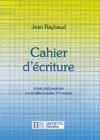 Cahier d'écriture CP/CE1 - Ed.1987