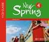 New Spring 4e LV1 - Anglais - 4 CD audio classe - Edition 2008