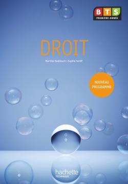 Droit, BTS 1re année, Livre de l'élève, éd. 2009