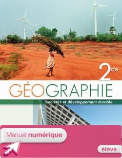Manuel numérique élève Géographie Seconde