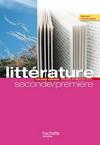 L'écume des lettres - Littérature 2de / 1re - Livre élève grand format - Edition 2011