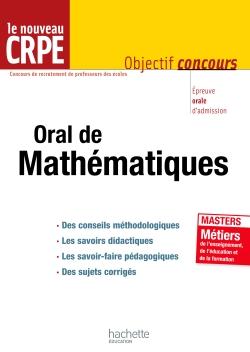 L'épreuve orale de mathématiques au nouveau CRPE - cliquer pour zoomer