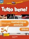 Manuel numérique italien Tutto bene Terminale - Licence élève enrichie - Edition 2012