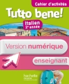 Version numérique enseignant Cahier d'Activités Tutto bene! 2e année - édition 2014