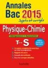 Annales Bac 2015 sujets et corrigés - Physique Chimie Terminale S