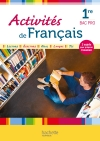 Activités de Français 1re Bac Pro - Livre élève - Ed. 2013