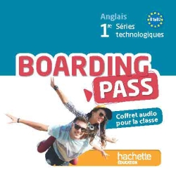 Coffret audio classe Boarding Pass