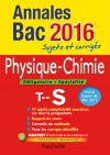Annales 2016 Physique-Chimie Ts