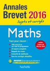 Annales 2016 Maths 3E