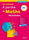 Le Nouvel A portée de maths CM1 - Photofiches + CD - Ed. 2015