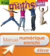 Manuel numérique Kiwi mathématiques cycle 4 / 5e, 4e, 3e - Licence enrichie élève - éd. 2016