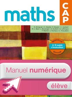 Mathématiques CAP - Livre numérique élève - Ed. 2016