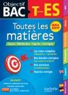 Objectif Bac - Toutes Les Matieres Term ES 2017