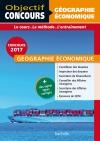 Objectif Concours Géographie Économique Cat A et B 2017