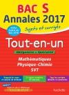 Annales Bac 2017 Le Tout-En-Un Term S