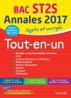 Annales Bac 2017 Sujets Et Corriges Le Tout-En-Un Term ST2S