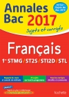 Annales Bac 2017 Sujets Et Corriges Français 1ères Techno
