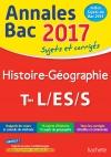 Annales Bac 2017 Histoire-Géo Term L/Es/S