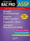 Fiches ASSP Soins, santé, Biologie et microbiologie