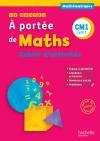 Le Nouvel A portée de maths CM1 - Cahier de mesures-géométrie - Ed. 2016