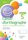 Cahier d'orthographe cycle 4 / 5e - éd. 2016