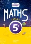 Mission Indigo mathématiques cycle 4 / 5e - Livre élève - éd. 2016