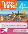 Version numérique enseignants cahier d'activités Tutto bene! italien cycle 4 / 4e LV2 - éd. 2017