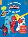 Spiderman J'apprends en coloriant PS-MS